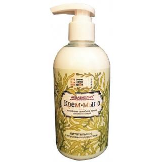 Крем-мыло «Питательное с морскими водорослями» на основе грязи Сакского озера 300мл