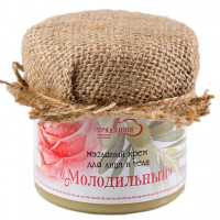 """Масляный крем для лица и тела """"Молодильный"""" 100г"""