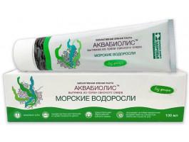 Зубная паста «Морские водоросли» на основе Сакской грязи 100мл