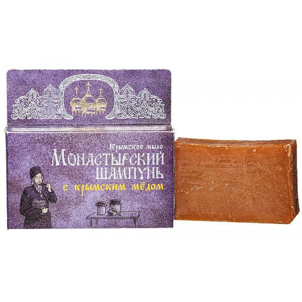 Монастырский шампунь «С Крымским медом» 80г