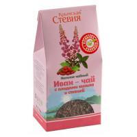 Иван-чай с плодами кизила и стевией 50г